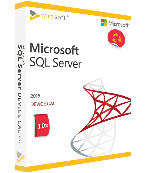 MICROSOFT SQL SERVER 2016 - 5 PACK DEVICE CAL