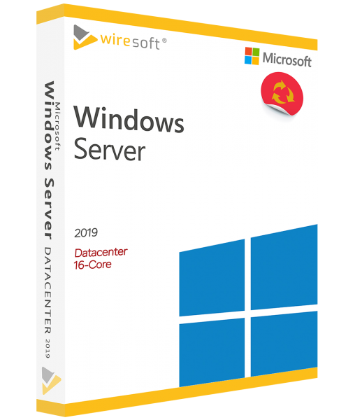 MICROSOFT WINDOWS SERVER 2019 DATACENTER 16-CORE