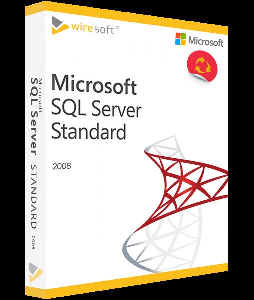 MICROSOFT SQL SERVER 2008 STANDARD