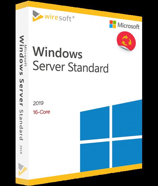 MICROSOFT WINDOWS SERVER 2019 STANDARD 16-CORE