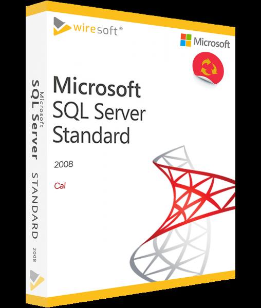 MICROSOFT SQL SERVER 2008 STANDARD CAL
